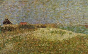 Georges Pierre Seurat - The away Samson in Grandcamp