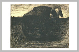 Georges Pierre Seurat - The cart or the horse hauler
