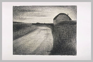 Georges Pierre Seurat - On the road