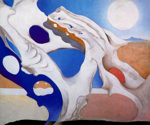 Georgia Totto O-keeffe - Shadow with Pelvis and Moon