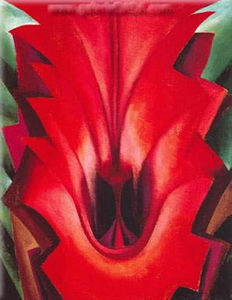 Georgia O-keeffe - Inside Red Canna