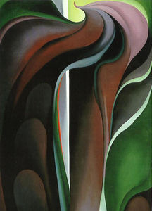 Georgia O-keeffe - Jack in the Pulpit -V