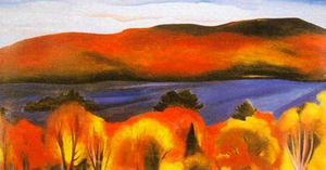 Georgia Totto O-keeffe - Lake George, Autumn