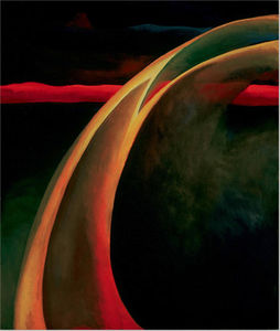 Georgia Totto O-keeffe - Red and Orange Streak