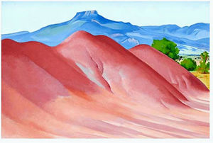 Georgia O-keeffe - Red Hills and Pedernal