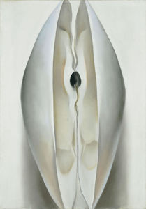 Georgia Totto O-keeffe - Slightly Open Clam Shell