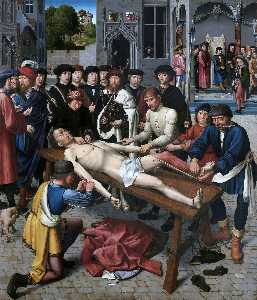 Gerard David - The Flaying of the Corrupt Judge Sisamnes