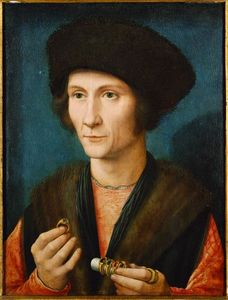 Gerard David - Portrait of a Goldsmith