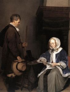 Gerard Ter Borch - The Message