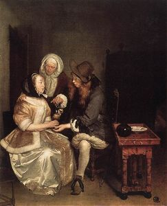 Gerard Ter Borch - The Glass of Lemonade
