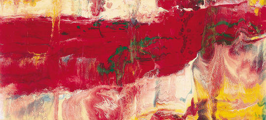 Ice, 1981 by Gerhard Richter | Oil Painting | WahooArt.com