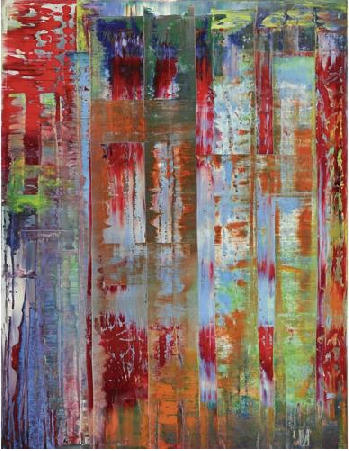 Abstract Bilding, 1992 by Gerhard Richter