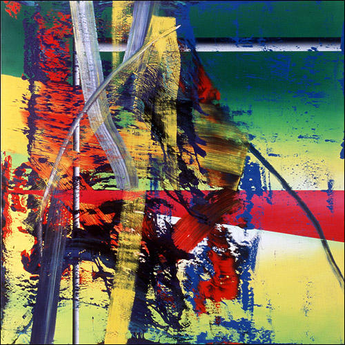 Station by Gerhard Richter | Oil Painting | WahooArt.com