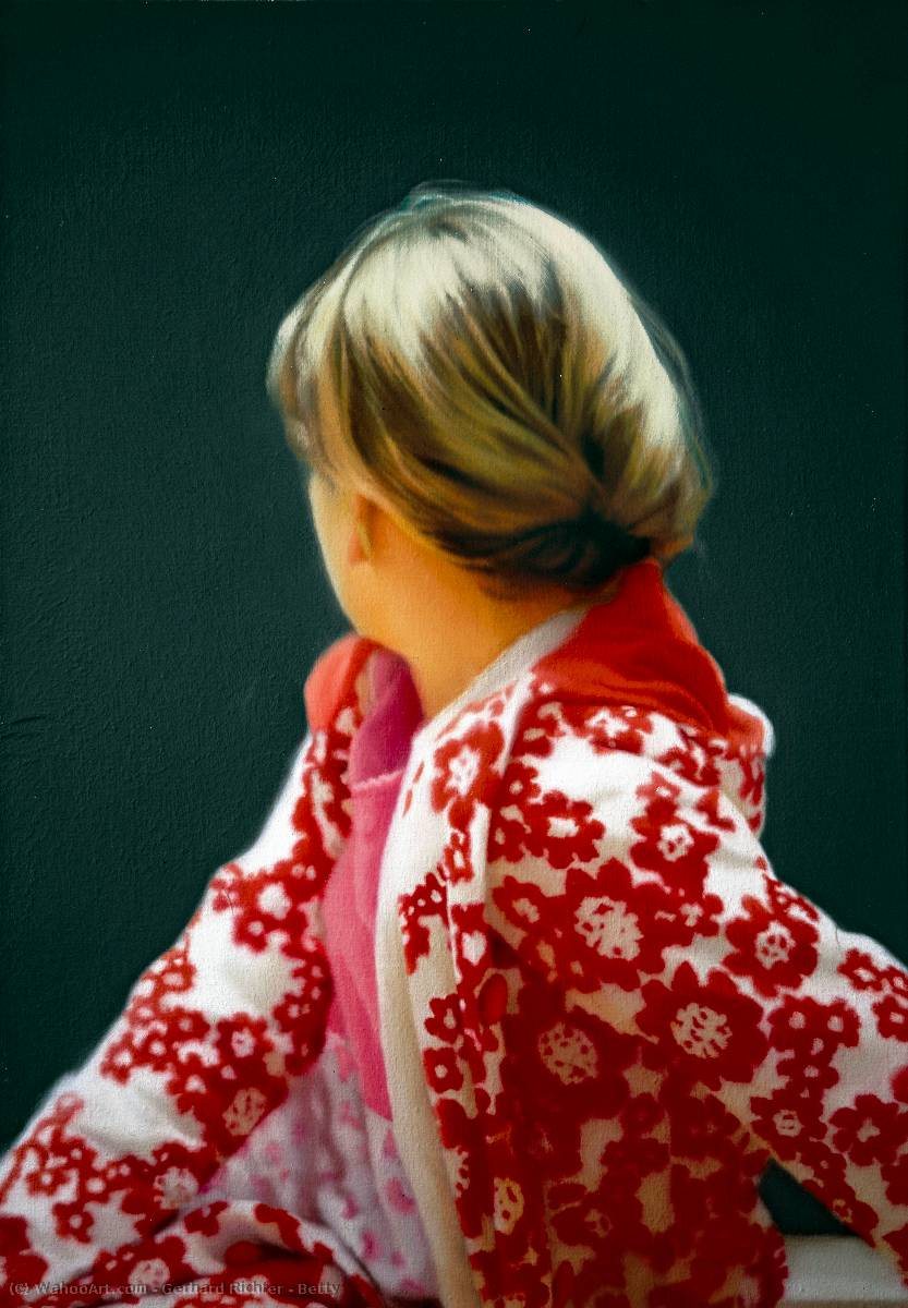 Betty, 1988 by Gerhard Richter | WahooArt.com