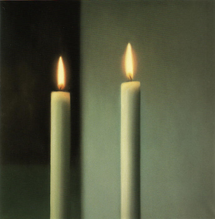 Candles by Gerhard Richter | Painting Copy | WahooArt.com