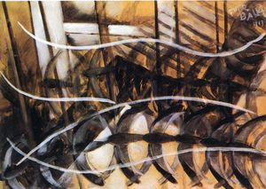 Giacomo Balla - Lines of Movement and Dynamic Succession