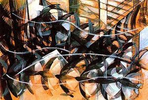 Giacomo Balla - Flight of the Swallows