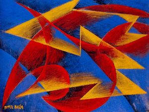 Giacomo Balla - Line of speed