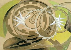 Giacomo Balla - Shape and Noise of Motorcyclist