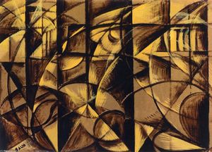 Giacomo Balla - The Speed of an Autumobile