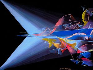 Giacomo Balla - Science against Obscurantism