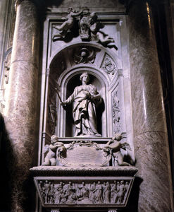 Gian Lorenzo Bernini - Sepulchre of Matilda the Great Countess