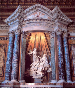 Gian Lorenzo Bernini - The Ecstasy of St. Teresa