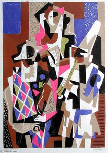 Gino Severini - The musicians
