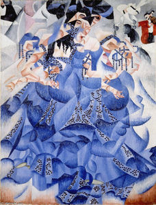 Gino Severini - Ballerina in Blue