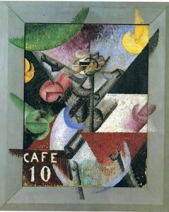 Gino Severini - Plastic Rhythm of the 14th of July