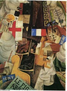 Gino Severini - Train of the Wounded