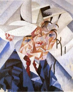 Gino Severini - Self-portrait