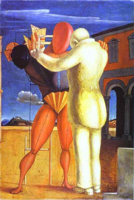 The Prodigal Son, Oil On Canvas by Giorgio De Chirico (1888-1978, Greece)