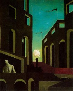 Giorgio De Chirico - Happiness of returning