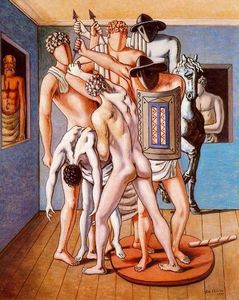 Giorgio De Chirico - School of Gladiators