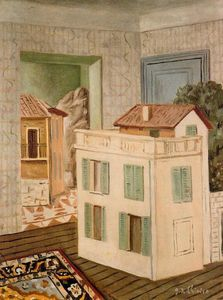 Giorgio De Chirico - The house in the house