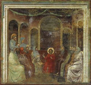 Giotto Di Bondone - Christ among the Doctors