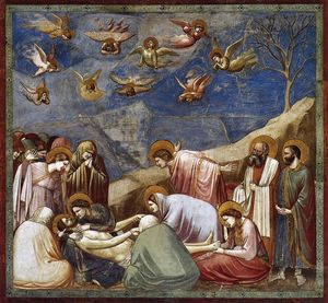 Giotto Di Bondone - Lamentation (The Mourning of Christ)