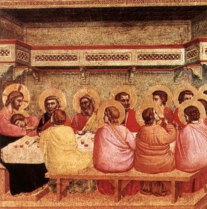 Giotto Di Bondone - Last Supper