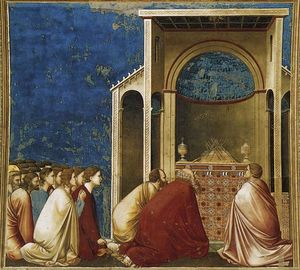 Giotto Di Bondone - The Suitors Praying