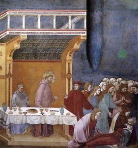 Giotto Di Bondone - The Death of the Knight of Celano