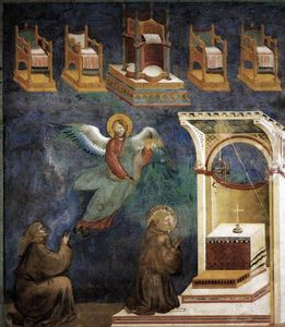 Giotto Di Bondone - The Vision of the Thrones