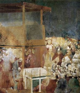 Giotto Di Bondone - Canonization of St Francis