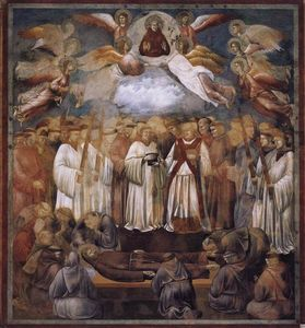 Giotto Di Bondone - Death and Ascension of St. Francis