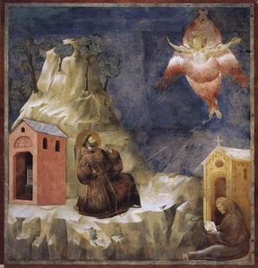 Giotto Di Bondone - Stigmatization of St. Francis