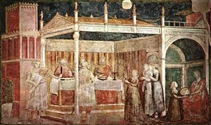 Giotto Di Bondone - Feast of Herod