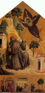 Giotto Di Bondone - St. Francis Receiving the Stigmata