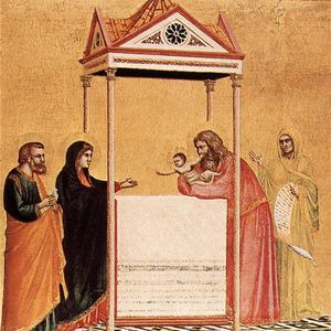 Giotto Di Bondone - The Presentation of the Infant Jesus in the Temple