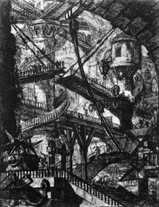 Giovanni Battista Piranesi - Carceri VII