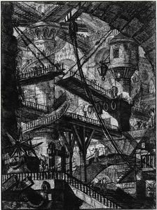 Giovanni Battista Piranesi - The Prisons